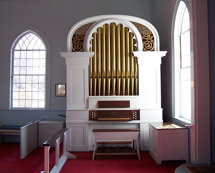 The Johnson Organ at St. John's