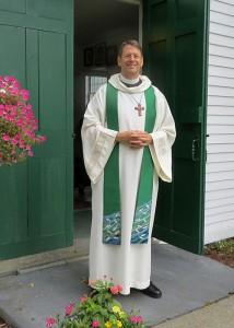 Portrait of Vicar Eliot Moss